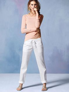 Relaxed Linen Pant ...this has been my fave look for well over a decade...VS