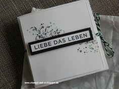 Papierträume & Stempelliebe: Mein Projekt - Minialbum
