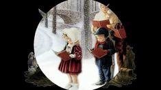 Grüße zum Weihnachtsfest mit Stille Nacht,heilige Nacht