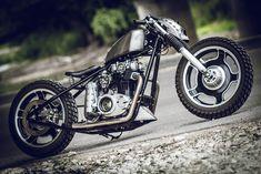 ϟ Hell Kustom ϟ: Yamaha XS650 By Bull Cycles