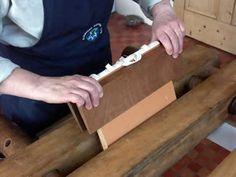 bookbinding:  applying backing boards