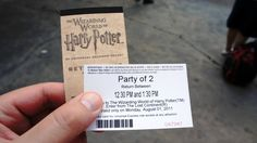 If you're visiting Universal when it's busy (like this week!), you need to read this page: Wizarding World of Harry Potter return tickets - complete insider's guide