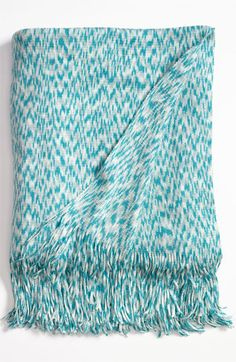 Nordstrom at Home Space Dye Knit Throw available at #Nordstrom