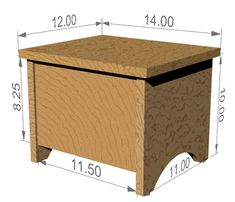 The RunnerDuck Storage Stool, step by step instructions on how to make a small foot stool that has storage inside.