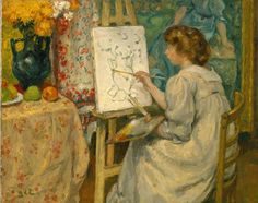 1000+ images about Woman Painters in Paintings on ...