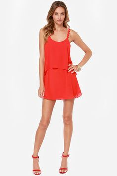 Something &39bout a red sundress.  My Style  Pinterest  Red Red ...