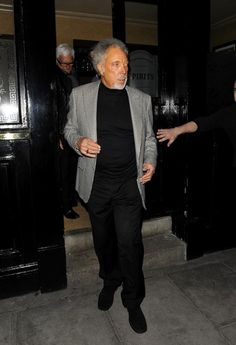 Tom Jones Photos Photos - Tom Jones appears to have taken his tanning a little bit too far, as he appears slightly orange after leaving The Punch Bowl. - Tom Jones Looks Tan Vera Lynn, Sir Tom Jones, Punch, Toms, Husband, Singer, Orange, Photos, Pictures