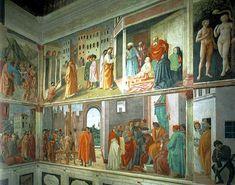 Cappella Brancacci - affreschi di Masaccio, Masolino da Panicale e Filippino Lippi Siena - Chiesa di Santa Maria del Carmine - Firenze