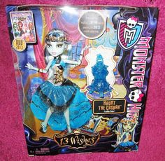 Monster High 13 Wishes Frankie Stein Just Released