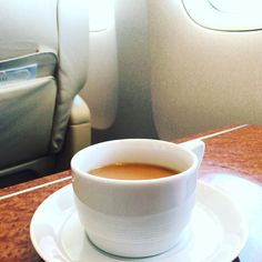 JL915(JAL915) F-class HND -> OKA in 201612 #travel #flight #jal #okinawa #japan #coffee