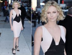 <3 Charlize Theron in this Antonio Berardi dress  http://www.yoox.com/item/YOOX/ANTONIO+BERARDI/dept/women/tskay/3FD17CD7/rr/1/cod10/34219238NU/sts/sr_women80