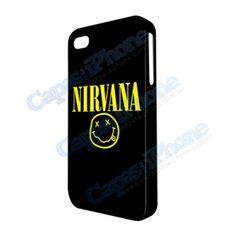 Capa para iPhone 4/4S Nirvana  http://www.capasparaiphone.com.br/loja/capa-para-iphone-4-4s-nirvana