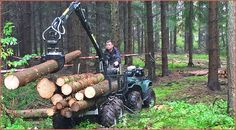 Feige Forsttechnik: Quadanhänger im Forstbetrieb Feige Forsttechnik mit Sitz in…