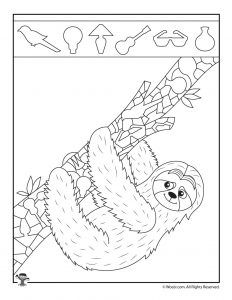 12 easy hidden pictures activity pages with super cute animals. Coloring Sheets, Coloring Books, Coloring Pages, Hidden Picture Games, Find The Hidden Objects, Hidden Pictures, Toddler Fun, Colorful Pictures, Activities For Kids