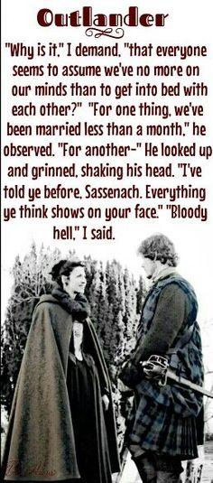 Quote from Outlander/Diana Gabaldon  #outlander #JamieFraser #SamHeughan