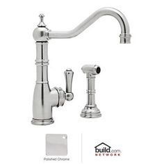 Rohl U4719Lpn2 Perrin And Rowe Bridge Style Kitchen Faucet With Endearing Rohl Kitchen Faucet Inspiration