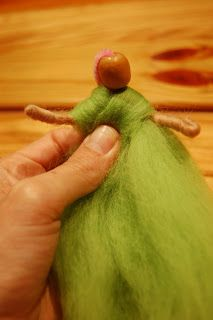 How to make a Winter Wattle Fairy Doll | Parenting Fun Every DayParenting Fun Every Day