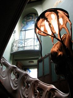 Art Nouveau. Ryabushinsky House/Gorky Museum, Moscow. What a ballestrade! Love to see all of it.