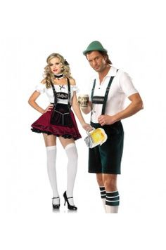 Couples Costume: Beer Guy and Beer Stein