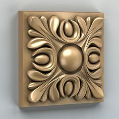 Square rosette 001 rosette square molding, available formats MAX, OBJ, STL, ready for animation and other projects Wood Carving Designs, Wood Carving Art, Wood Art, Modern Reception Desk, 3d Printing Diy, Decorative Plaster, 3d Printer Designs, 3d Pattern, 3d Prints