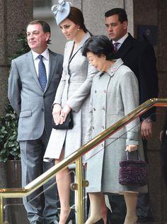 Primera aparición pública de la Duquesa de Cambridge desde que anunciara su segundo embarazo