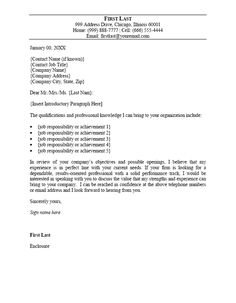 How To Open A Cover Letter Glamorous Cover Letter Position  Cover Letter  Pinterest  Job Letter And Review