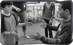 * Could be fun team builder. My drama club kids LOVE this game* Pass the Clap This is a focusing activity that helps students build concentration skills and work together in an ensemble. Theatre Games, Drama Theatre, Teaching Theatre, Teaching Music, Teaching Tools, Teaching Ideas, Drama Teacher, Drama Class, Drama Activities