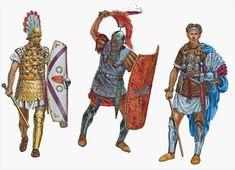 Roman Centurions Augustan - Tiberian period, 1st c. BC/1st c. AD - Giuseppe Rava
