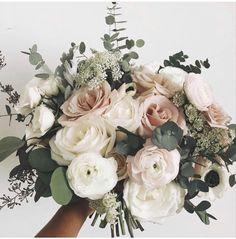 Spring Wedding Bouquets, Rose Wedding Bouquet, Bride Bouquets, Bridal Flowers, Floral Wedding, Rustic Wedding, Burgundy Wedding, Fall Wedding, Neutral Wedding Flowers