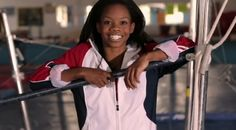 gabby douglas :)  the best gymnast i have ever seen!!!!