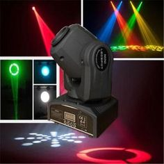 10W RGBW Mini LED Spot Moving Head Light on Made-in-China.com