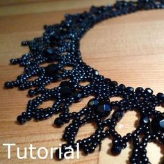 Glamour Necklace Beadwork Pattern/Tutorial  by BearlyBeaded, £5.00