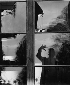 Self-portrait, 1952. Photographed by Toni Schneiders.