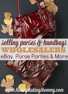 Bon Purse Parties: Designer Handbag Wholesale List