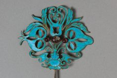 Headdress Ornament, 1800s-1900s China, Qing dynasty (1644-1912)