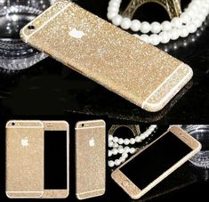 shining Diamond Glitter Bling DecalsStickerprotector case skin flim sticker for iPhone 6/6S plus 5S/5 4/4S and for Samsung Phone Accessories - iPhone 6S Plus Cases Cover - iPhone 6/6s Plus Cases - iPhone Cases