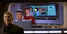 Spock though time.