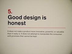 5. Dieter Rams: Principles for Good Design