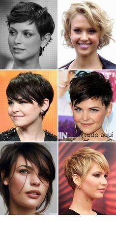 atrizes com cabelo curto