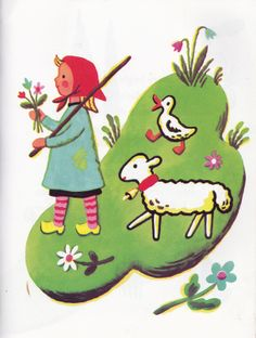 Springtime for Jeanne-Marie, written and illustrated by Francoise Seignobosc,