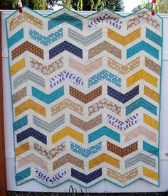Ashley's Wedding Sign-In Quilt (from My Quilt Diet)