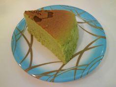 Matcha cheesecake - looks too much like the pandan cake!