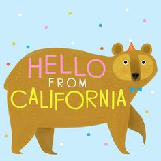Enjoying the lovely weather before we head home tomorrow! Thanks California for the wonderful trip! #california #californiabear #locallove