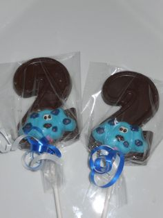 12 Blues Clues Nick Jr 2nd Second Birthday Chocolate Lollipops Party Favor Birthday Party Favor Kids