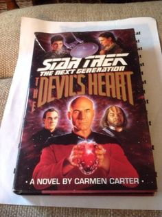 Star-Trek-The-Devils-Heart-A-Novel-By-Carmen-Carter-Hard-Cover-Spock #ebay #book #startrek #kenblackcat