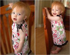 Baby pillow case dress