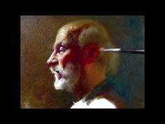 ▶ Profile of Llyod, 140 minutes alla prima painting demo by Zimou Tan - YouTube