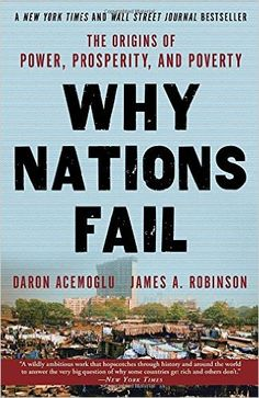 Why Nations Fail: The Origins of Power, Prosperity, and Poverty: Daron Acemoglu, James Robinson: 9780307719225: Amazon.com: Books