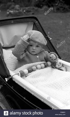 Silver Cross Prams, Vintage Pram, Prams And Pushchairs, Baby Prams, Beret, Baby Wearing, Childhood, Stock Photos, Retro