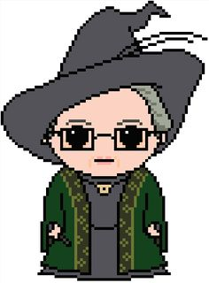 Looking for your next project? You're going to love Harry Potter: Minerva McGonagall by designer Shylah Addante.